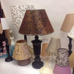 подбор абажура для лампы