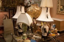 Абажуры для винтажных ламп (40)