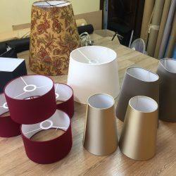 Абажуры из ткани на пластике (47)