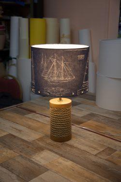 Абажуры из ткани на пластике (64)