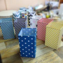 Абажуры из ткани на пластике (79)