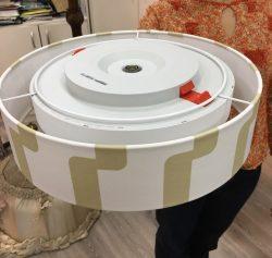 Абажуры из ткани на пластике (80)