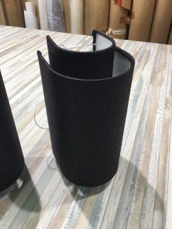 Абажуры из ткани на пластике (85)
