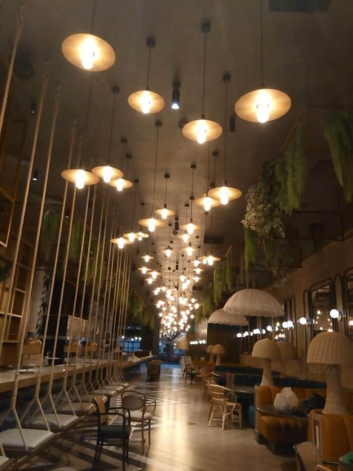 декоративное освещение для ресторанов в парке развлечений остров мечты