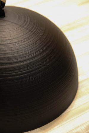 черный матовый светильник лофт стиль
