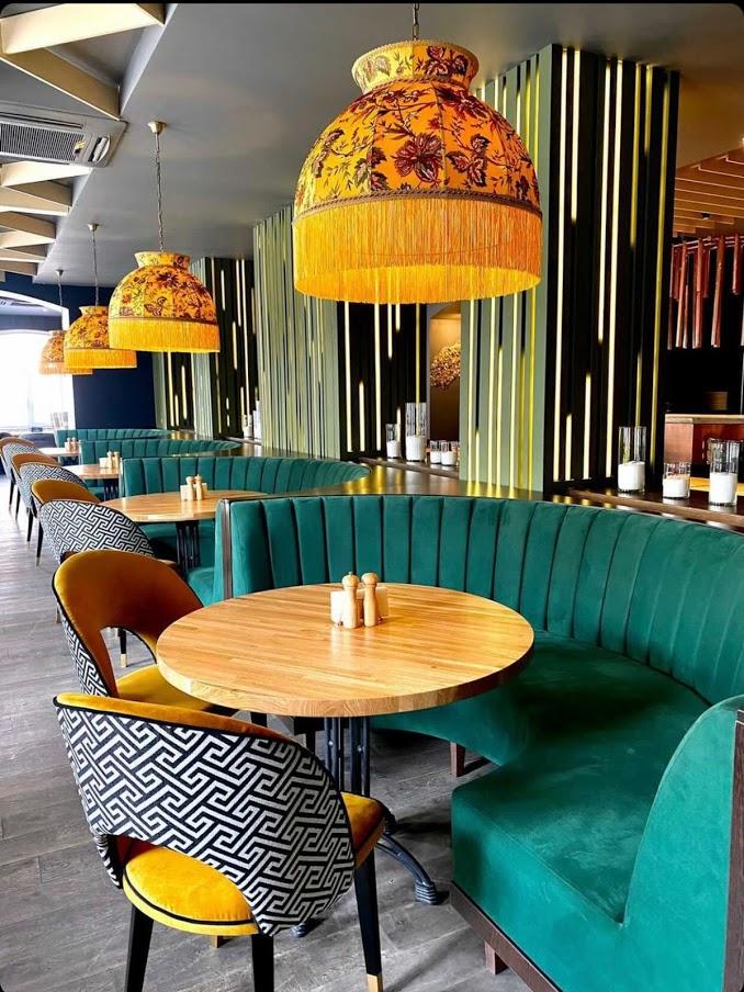 абажуры на заказ для кафе, баров и ресторанов