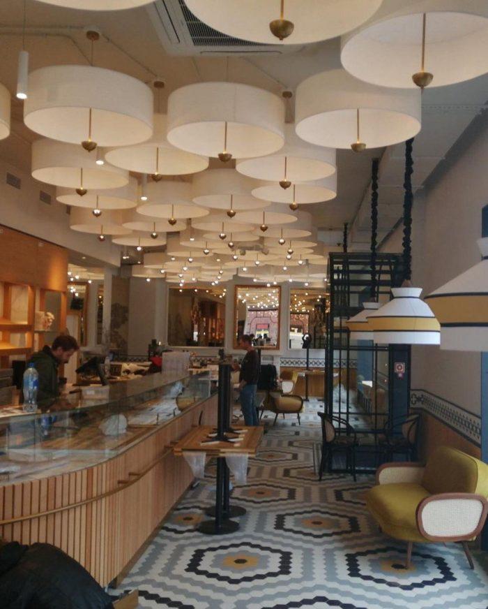 Изготовление светильников для кафе и баров