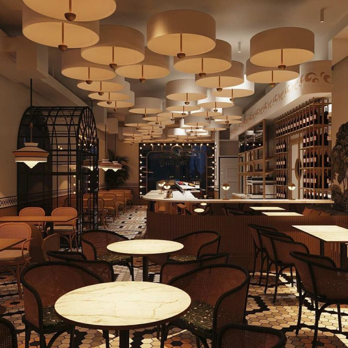 Изготовление света для ресторанов