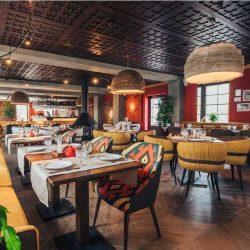 изготовление абажуров для ресторанов