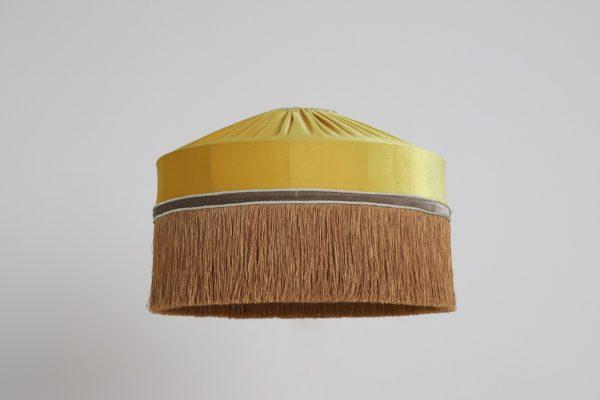 желтый абажур для дома