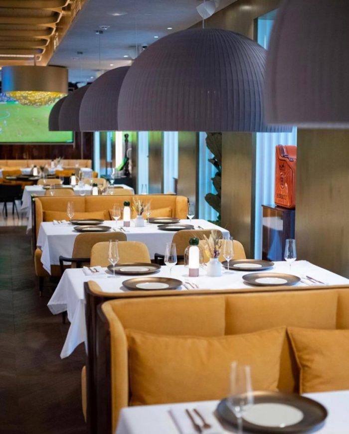 большие абажуры для ресторанов